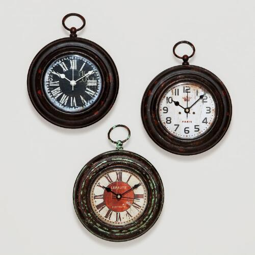 Magnetic Metal Clocks