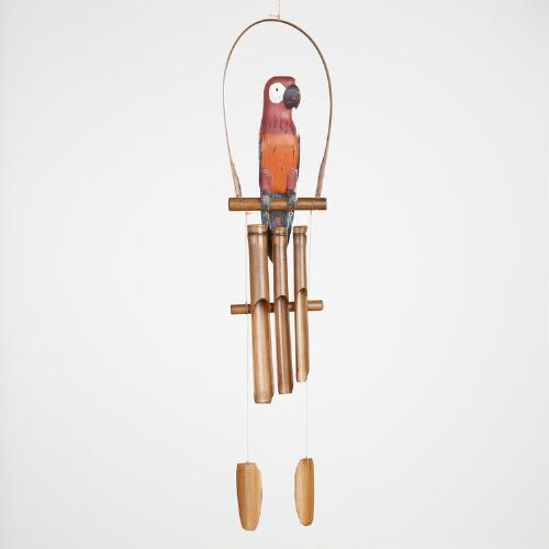 Parrot Wind Chime