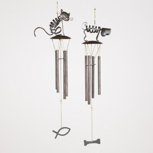 Cat or Dog Wind Chimes