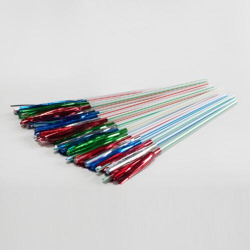 Sparkler Straws, Set of 24