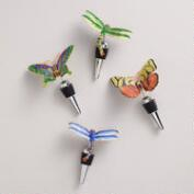 Bug Cloisonne Bottle Stoppers