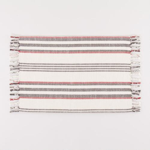 Herringbone Stripe Placemats, Set of 4