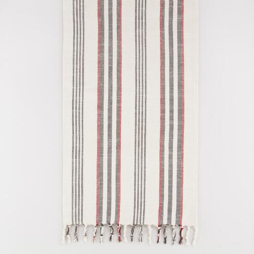 Herringbone Stripe Table Runner