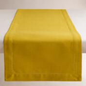 Cress Green Hemstitch Table Runner