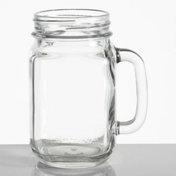 Country Jar Glasses, Set of 2