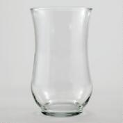 Clear Glass Angela Vase
