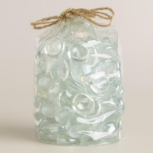 Clear Iridescent Vase Fillers