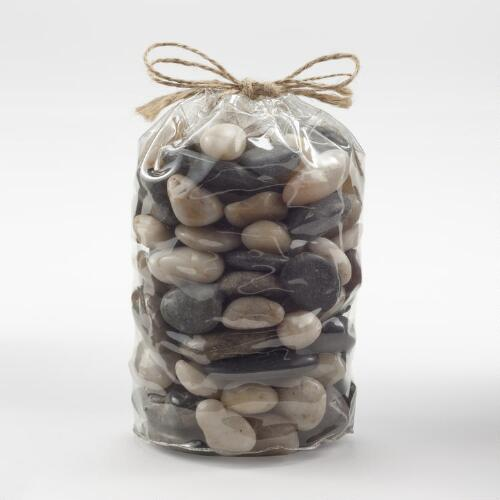Multi-Colored Mini River Rock Vase Fillers