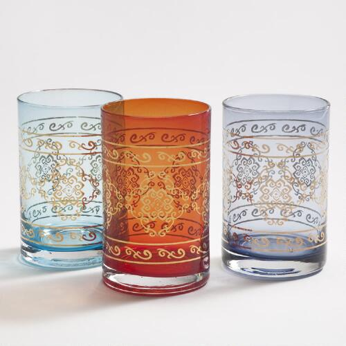 Marrakech Tumblers, Set of 3