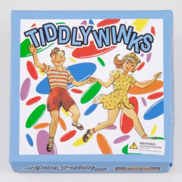 Retro Tiddlywinks Game