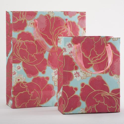 Pink Poppy Gift Bags