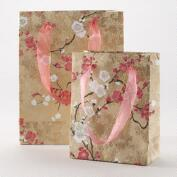 Pink and Gold Blossom Small Gift Bag