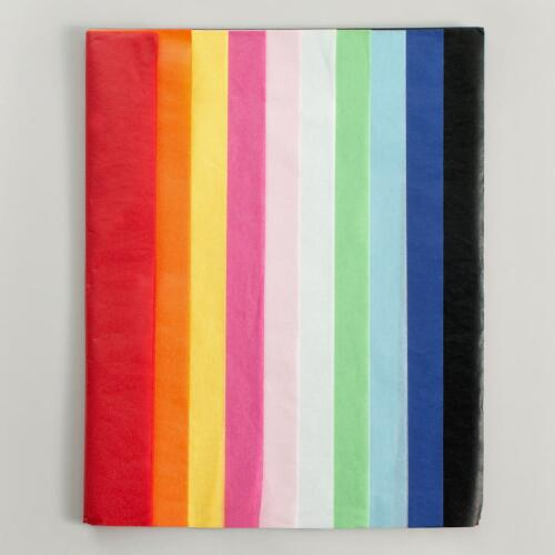 Multi-Color Tissue Paper