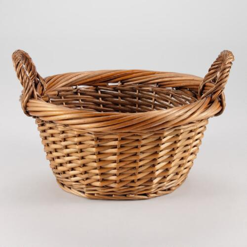 Medium Walnut Jordan Basket