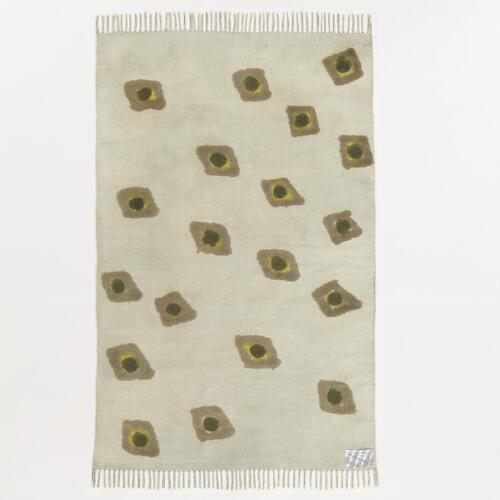 Green Dotted Serengeti Rug