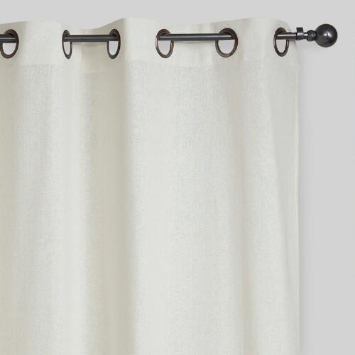 Ivory Bori Curtain