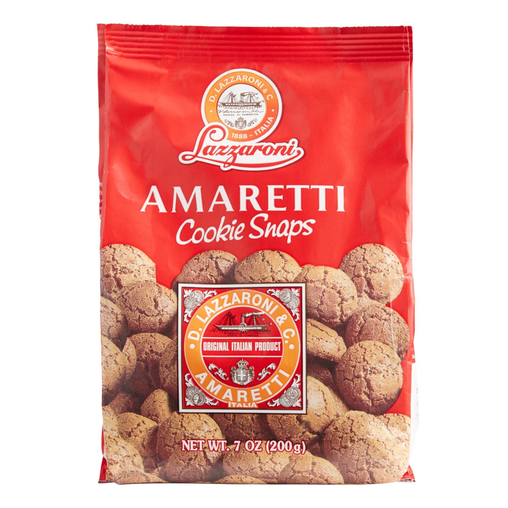 Lazzaroni Amaretti Cookie Snaps | World Market