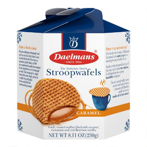 Daelmans Dutch Caramel Wafers Box, Set of 9