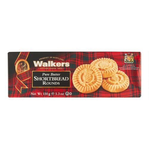 Walkers Shortbread Rounds, Set of 12