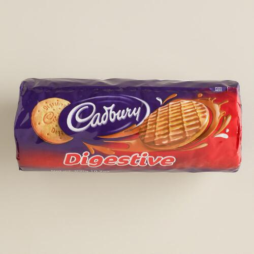 Cadbury Half-Coated Digestives