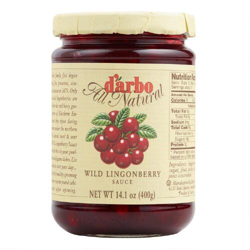 Darbo Lingonberry Conserve