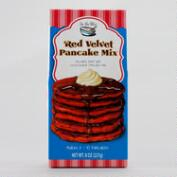 In the Mix Red Velvet Pancakes