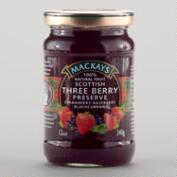 Mackays Scottish Three Berry Preserves