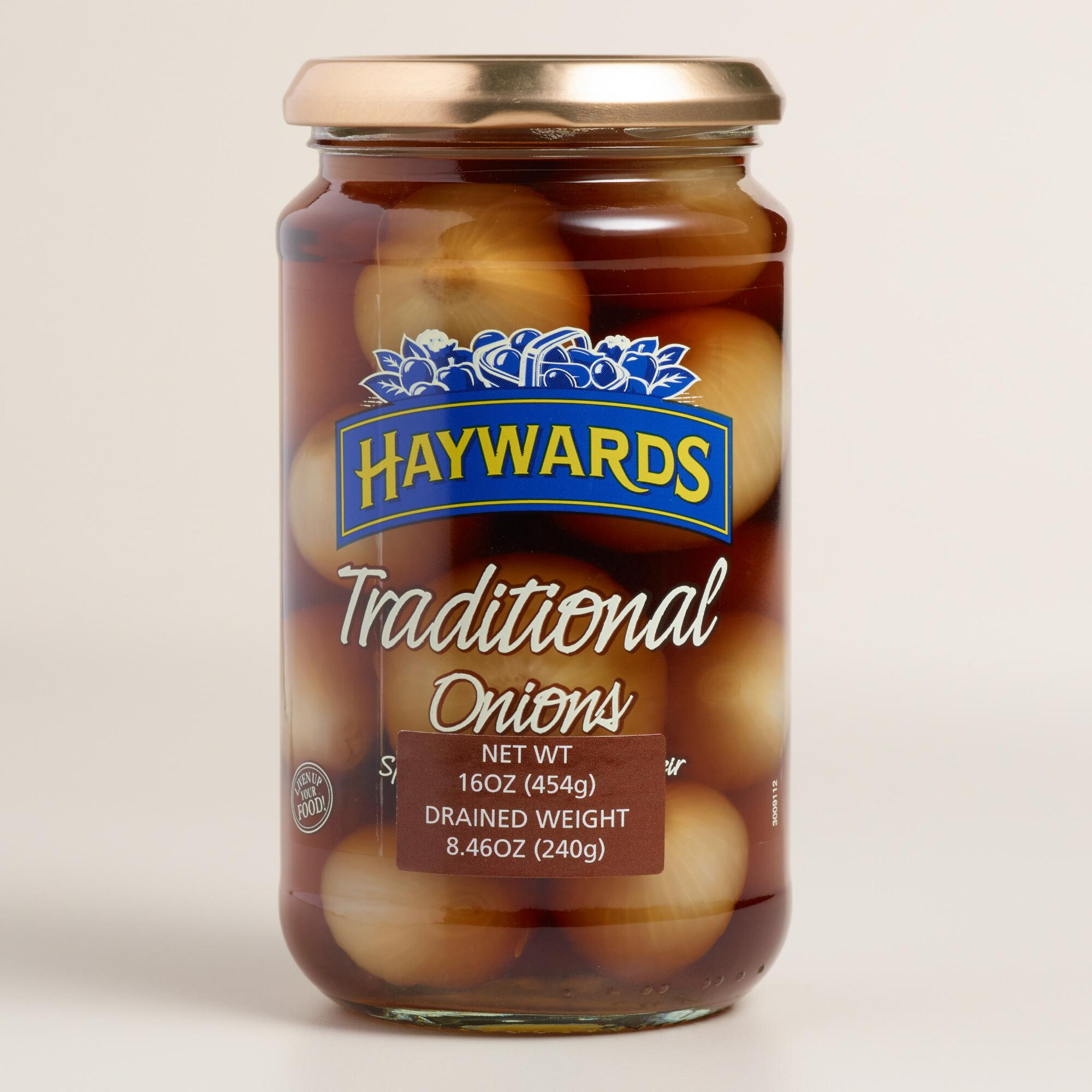 Haywards Traditional Pickled Onions   World Market