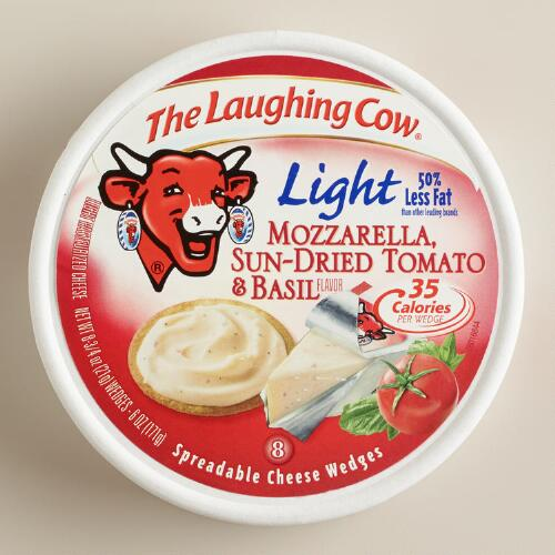 Laughing Cow Sun-Dried Tomato and Basil Cheese, Set of 12