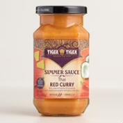 Tiger Tiger Red Curry Simmer Sauce, Set of 6