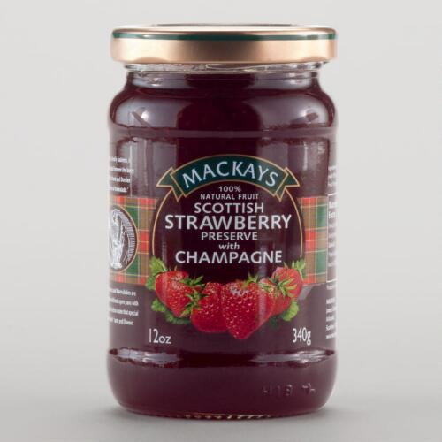 Mackays Scottish Strawberry Preserves, Set of 6