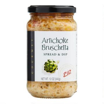 Elki Artichoke Bruschetta, Set of 6