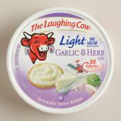 Laughing Cow Light Creamy Garlic Cheese, Set of 6