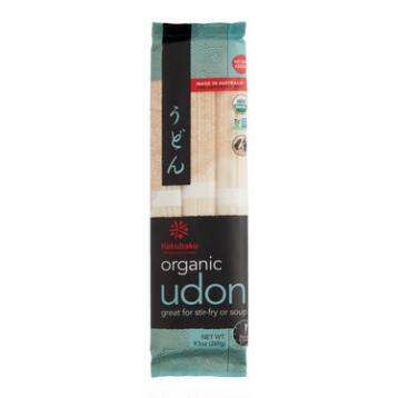 Hakubaku Organic Udon Noodles, Set of 8