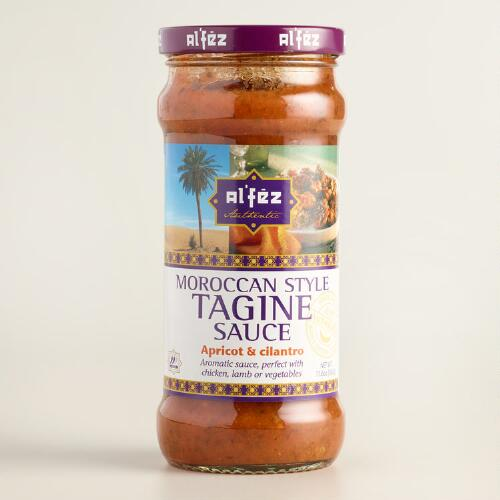 Al Fez Apricot and Cilantro Tagine Sauce, Set of 6