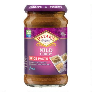 Patak's Mild Curry Paste, Set of 6