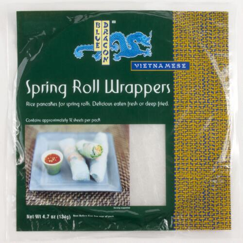 Blue Dragon Spring Roll Wraps