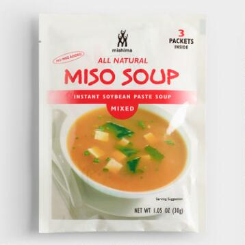 Mishima Mixed Miso Soup, Set of 6