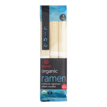 Hakubaku Organic Ramen Noodles, Set of 8