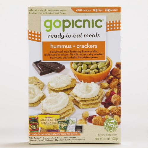 Go Picnic Hummus and Crackers