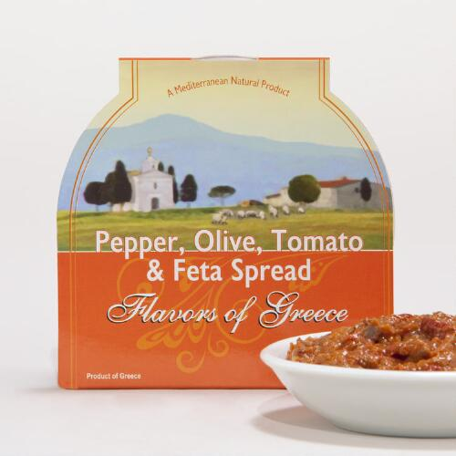 Flavors of Greece Tomato Olive and Feta Spread