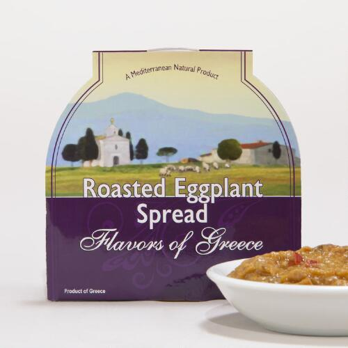 Flavors of Greece Roasted Eggplant Spread