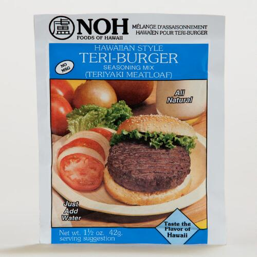Noh Hawaiian Style Teri-Burger Seasoning Mix, Set of 12