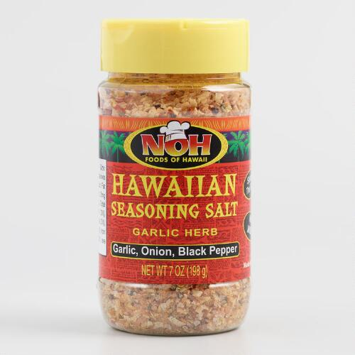 Noh Garlic Herb Hawaiian Sea Salt, Set of 6