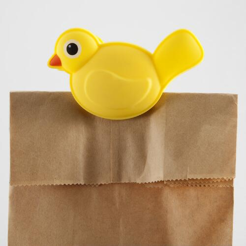 Talking Bird Bag Clip
