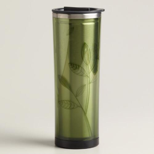 Green Tea and Coffee Tumbler