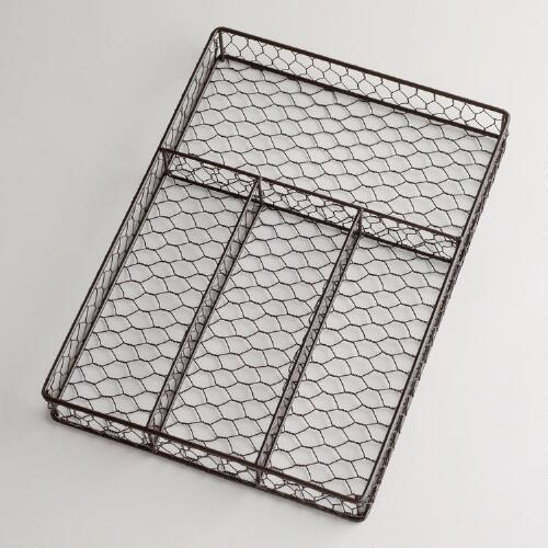 Wire Utensil Tray