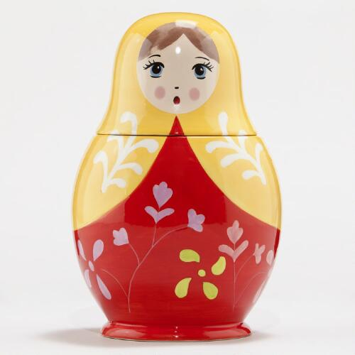 Russian Doll Cookie Jar