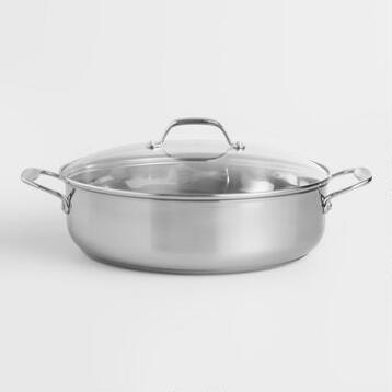 Stainless Steel Sauteuse Pan