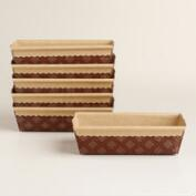 Patisserie Loaf Pans, Set of 6